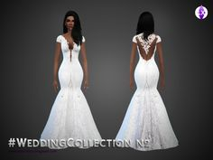 Wedding Collection N2 by LuxySims3 at TSR via Sims 4 Updates