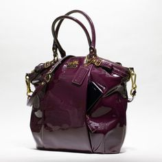 Coach :: Madison Patent Lindsey Satchel
