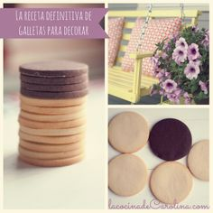 Receta definitiva de galletas para decorar, infalible