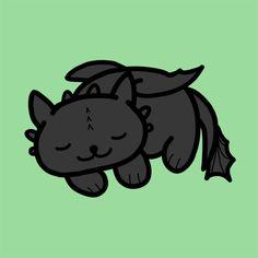 Little Boy Space — sarcasticdragontrash:   Neko Atsume Toothless