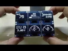 OLEDiUNO Display PCB, please see my improved version too :-) - YouTube