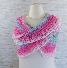 Crochet Shaw, Knit Crochet, Crochet Clothes, Paracord, Scarves, Knitting, Crocheting, Clothing, Fashion