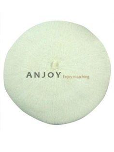 SZ Fashion Classic Candy Colors Wool Blended Warm Women Felt French Beret Beanie Hat Cap White SZ. $11.99