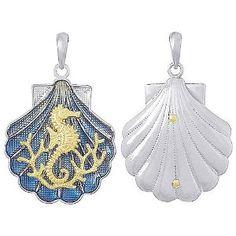 Nautical Seahorse /& Sea Shell Charms