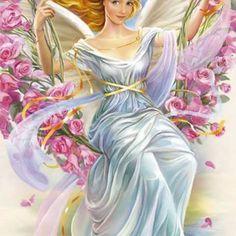 #ásványkarkötők Hashtag On Instagram - Insta Stalker Indian Art Paintings, Angel Pictures, Angels Among Us, Angel Art, Princess Zelda, Disney Princess, Christmas Angels, Tinkerbell, Disney Characters