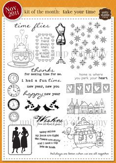 Unity Stamp Company November 2011 Kit of the Month