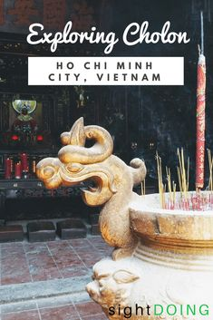Cholon (Chinatown) in Ho Chi Minh City / Saigon Vietnam is a fascinating place to visit.  This unusual self-guided walking tour weaves a murder mystery with local landmarks and cultural insights.