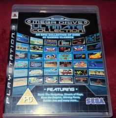Sega Mega Drive Ultimate Collection for the PlayStation 3 VGC in Video Games & Consoles | eBay