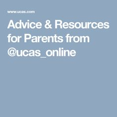 Advice & Resources for Parents from Digital Literacy, Young People, Parents, College, How To Apply, Advice, Children, Dads, Young Children