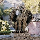 I want to find protection sentinels for my cottage. I Found Gargoyles at Wayfair.com