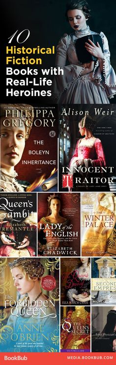 Historical fiction books to read about real women. Must add to your 2017 reading list!