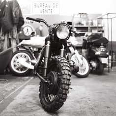 garagelopez:    Blitz Motorcycles shop  BMW R60/2  Paris, France - February 2011  Shot with Hasselblad 503 CW