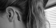 Feather tattoo❤