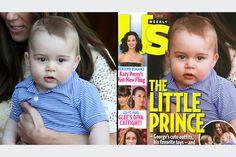 Nem o pequeno príncipe George escapou do #Photoshop – acredite - Blue Bus