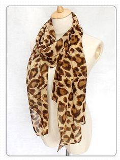 Amazon.com: NEW Women's Spring Scarf Shawl Leopard Print Scarf Silk Scarf For daughter's Gifts: Toys & Games