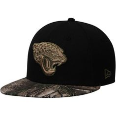 Jacksonville Jaguars New Era Rambo 59FIFTY Fitted Hat - Black Realtree Camo  -  34.99 Jacksonville 97d74b2027a9