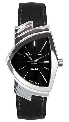 It was only a matter of time before Hamilton decided it was time for a real rehash of the classic Ventura watch. This is not to be confused with now defunct Ventura watches. The Ventura watch model from Hamilton first came out in the age. Stylish Watches, Luxury Watches, Cool Watches, Watches For Men, Casual Watches, Cartier Roadster, Ladies Gents, Watch Model, Vintage Design
