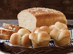 This homemade bread has a rich flavor with just the perfect hint of sweet honey.
