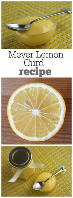 Meyer Lemon Curd Recipe