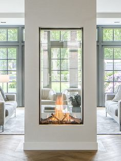 see-through fireplace vertical fireplace designer fireplace modern fireplace mod. - see-through fireplace vertical fireplace designer fireplace modern fireplace modern design - Home, Cheap Home Decor, House Design, Fireplace Design, European House, Home Remodeling, Interior Design, Fireplace Modern Design, House Interior