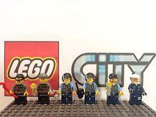 Lego City Police Robber Minifigure Lot 60008 Museum Break In