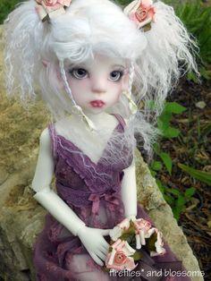 """Kaye Wiggs Layla models Sweet Roses 8.5"""" MSD BJD wig   eBay"""