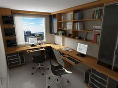 Trendy home small office layout Ideas