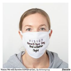 Quotes White, How To Protect Yourself, Blue Glitter, Health And Safety, Word Art, White Cotton, Sensitive Skin, Face Masks, Funny Face Mask