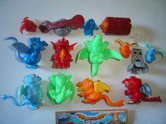 Kinder Surprise Set Dragons Dragonland 2007 Figures Toys Collectibles | eBay