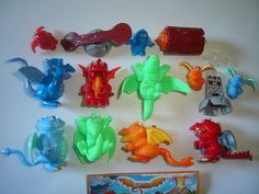 Kinder Surprise Set Dragons Dragonland 2007 Figures Toys Collectibles | eBay