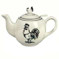 You'll love the Farm Rooster 1.99 qt. Porcelain China Teapot at Wayfair - Great Deals on all Kitchen & Tabletop products with Free Shipping on most stuff, even the big stuff.