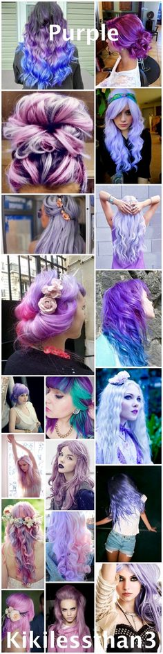 All sorts of pretty hair colors