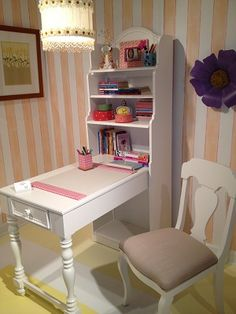 Lea Furniture...what a great space saving kid's desk and bookcase.  It's included in many collections!