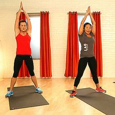 10-Minute CrossFit Workout From Jessica Alba's Trainer without weights