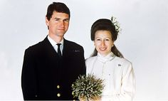 Wedding of Princess Anne and Timothy Laurence at The Crathie Church on 12th December 1992