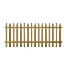 Spruce Gothic Pressure Treated Wood Fence Picket Panel (common: 3.5-ft X 8-ft…