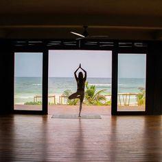 Find calmness in activity. #Tulum #sanara #yoga #calm #namaste