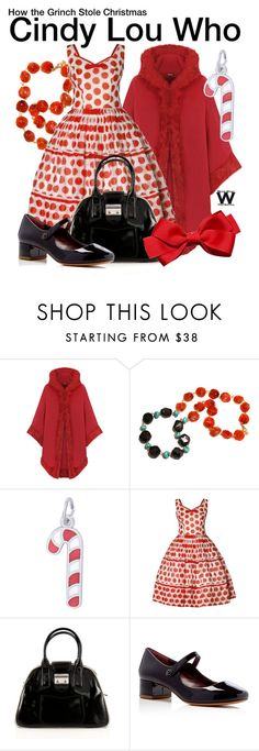 """""""How the Grinch Stole Christmas"""" by wearwhatyouwatch ❤ liked on Polyvore featuring WearAll, Rembrandt Charms, Miu Miu, Marc Jacobs, wearwhatyouwatch and film"""