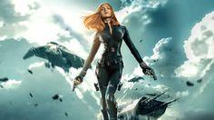 Captain America The Winter Soldier (2014) – Scarlett Johansson as Black Widow, HD Wallpaper