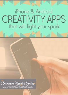 Creativity apps for iPhone and Android that will light your spark | Summon Your Spark