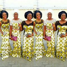 Whenever our style game is in need of a little sprucing, we know we can always count on some glam ladies who always take Ankara to the next level with their trendy styles. With their confident and bold styles, they never fail to show us that how you can slay perfectly in Ankara.... More is more and less is a bore.This season, the fashionistas are  making it very known many times over that Ankara has come to stay....For Good with a Bang!