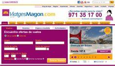 Web de Viatges Magon Menorca