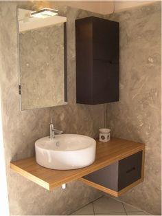 Lavabo ciotola in ceramica e mobile in legno zebrano e rovere Puntore modello Modula. In offerta la - 66%. Grande Affare! http://www.outletarredamento.it/arredo-bagno/bagno-in-rovere-scontato.html #lightbox[gallery]/0/ #arredobagno #lavandino #bagno #offerteoutlet #outletarredamento