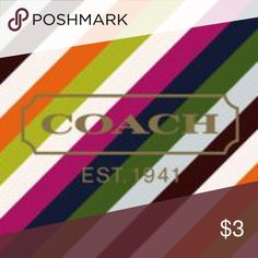 AMAZING COACH PRICES AMAZING PRICES ON ALL OF YOUR FAVORITE BRANDS! MICHAEL KORS, COACH, KATE SPADE, DOONEY & BOURKE, VERSACE, PRADA, GUCCI AND MUCH MORE! the $3 is for listing purposes only. This ad must have a price to list. Please do not purchase this ad Coach Bags
