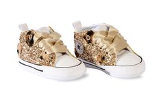 Converse All Star Custom chocolate with materials by Mimanera
