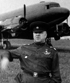 World War II, in Russia – the Great Patriotic War (22 June 1941 – 9 May 1945). Russian general (after this battle marshal) Georgy Konstantinovich Zhukov during the Battle of Kursk. 1943.