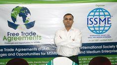 Mr. Sunil D Sharma, Secretary General, ISSME