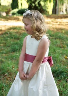 Flower Girl Dress pattern with free you tube on line tutorials