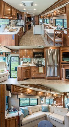 Check Out The Customized Interior Of Gone With Wynns New Bounder RV