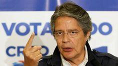 """Guillermo Lasso denunció un """"fraude burdo"""" y pidió que la #OEA """"salve la democracia"""" en #Ecuador El candidato opositor reclamó un recuento de votos y dijo que si no se hace, su rival asumirá un gobierno """"ilegítimo"""" y """"débil"""""""